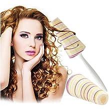 XYXY Plástico DIY Tipo autoadhesivo Manija de la venda Herramientas del pelo del bigudí 3 paquetes