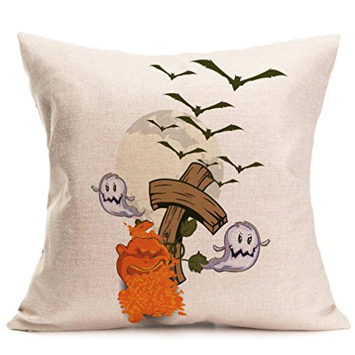 Halloween Kissenbezüge, LSAltd Leinen Schlafzimmer Kissenbezug Home Decor - D....ich.y Halloween Für Kinder Kostüme
