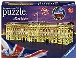 Ravensburger Puzzle 12529 Ravensburger 12529-Buckingham Palace bei Nacht-3D Puzzle