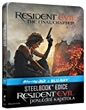Resident Evil: The Final Chapter Steelbook 3D + 2D Bluray Limited Collector's Edition + Gift Steelbook's™ foil Region Free