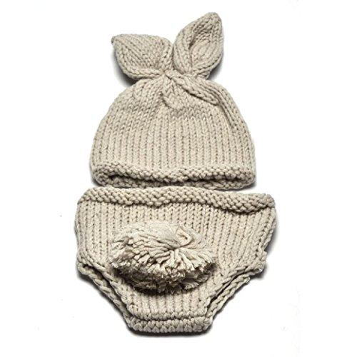 Fami Nouveau-né Prop Photographie Costume Bébé Avec Bonnet (C)