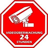 Suchergebnis Auf Amazon De Fur Videouberwachung Aufkleber Auto