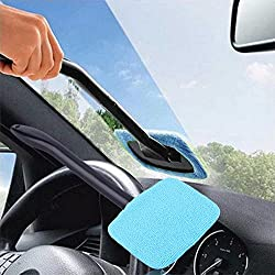 Alcoa Prime Portable Plastic Windshield Easy Cleaner Easy-microfiber Clean Hard-To-Reach Windows On Your Car Or Home