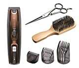 Remington Beard Trimmer Grooming Kit with Stubble Trimmer and 2 Adjustable Combs for Variable Lengths - MB4045