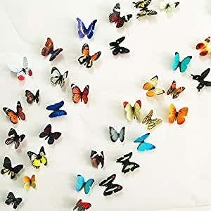 Delightful ... Jaamso Royals U00273D Butterfliesu0027 Wall Sticker (Vinyl, 32 Cm X 24 Cm X 0.5  Cm Part 30