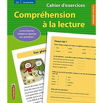 Compréhension à la lecture CE1 : Cahier d'exercices