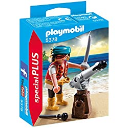 Playmobil Especiales Plus - Pirata con Cañón (5378)