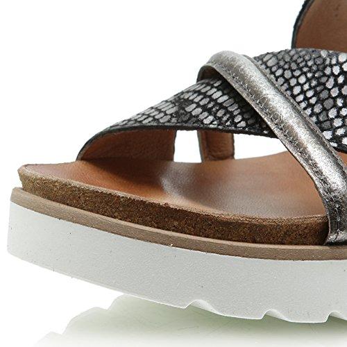 Mjus Tapas 221022 Damen Riemchen Sandale Nero