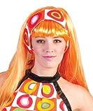 Kostüm Retro Kleid Pippa Größe 36/38 Damen 70er 80er Jahre Party Hippie Bunt Neon Karneval Fasching Pierro's