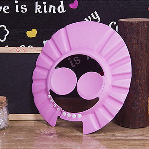 Preisvergleich Produktbild Dusch-/Badekappe mit verstellbaren Ohrschutzpolster von Ibepro für Babys, Kleinkinder und Kinder von Ibepro