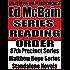 ED McBAIN: SERIES READING ORDER: A READ TO LIVE, LIVE TO READ CHECKLIST [MATTHEW HOPE SERIES, 87TH PRECINCT SERIES]