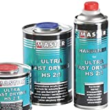 Troton Ultra Fast UHS 2:1 KLARLACK 1L Kratzfest Acryl 2K Lack Drying Speed Schnell Fast + HÄRTER 0,5L Master
