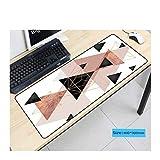 JUNHONGZHANG Personalisierte marmorierte Straße Übergroße Mauspad Rutschfeste Gaming-Gummiauflage für Home Office Internet-Cafés,30x80cm