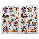 Mickey Mouse und Freunde - Bunte Kreative Unebenheit auf Übertragung Aufkleber - 2 Blatt