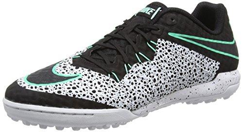 Nike Hypervenomx Finale Tf, Scarpe da Calcio Uomo Multicolore (Multicolore (White/Black/Green Glow/White))