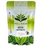 MSM (Methylsulfonylmethan) für Hunde 1000mg - 180 Tabletten - Gelenkpflege Zuschlag für Tiere