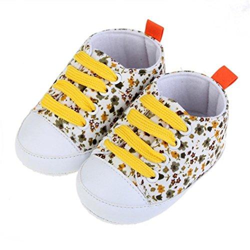 Gemini_mall , Baby Jungen Lauflernschuhe gelb gelb 0~6 Month gelb