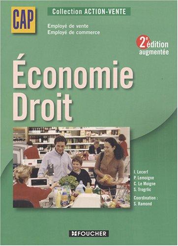Economie Droit CAP vente-commerce