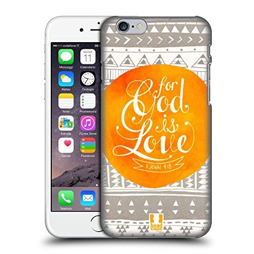 Head Case Designs Mächtig Bekannten Versen Aus Der Bibel Ruckseite Hülle für Apple iPhone 6 / 6s Liebe