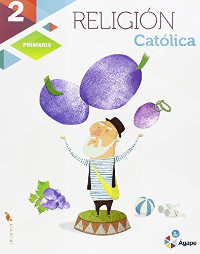 Religión 2º Primaria Agape Proyecto Superpixépolis  (Ágape) - 9788426398659
