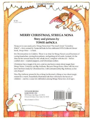 Merry Christmas, Strega Nona