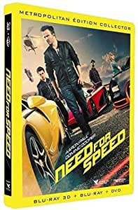 Need for Speed [Combo Blu-ray 3D + Blu-ray + DVD - Édition boîtier SteelBook]