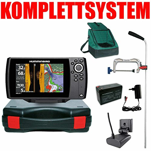 Humminbird Echolot GPS Portabel Profi Plus- Helix 7 Chirp GPS SI G2 Side Imaging