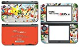Rumble U Blast Pikachu Victini Video Game Vinyl Decal Skin Sticker Cover for the New Nintendo 3DS XL LL 2015 System Console by Vinyl Skin Designs