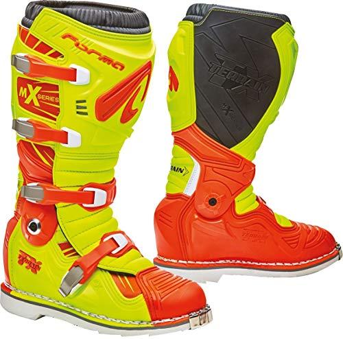 Forma Terrain TX 2.0 Motocross Stiefel Gelb/Orange 43 Terrain Stiefel