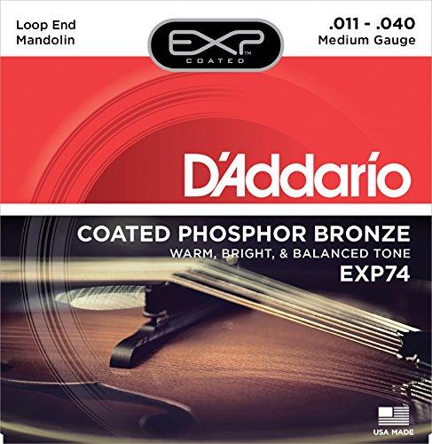 D\'Addario EXP74 Saitensatz für Mandoline, Medium