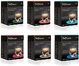 60 x Nespresso Compatible Coffee Capsules / Pods Espresso - 6 Different Blends
