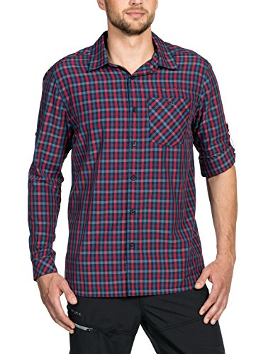 Vaude Herren Albsteig Long Sleeve Shirt Hemd, Eclipse, L -
