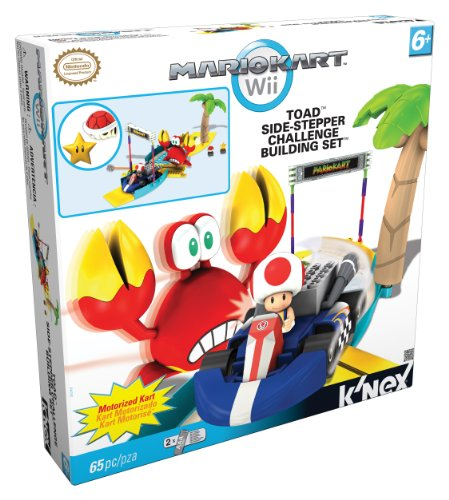 Nintendo Kröten Nebenschritt Herausforderung Baukasten Nintendo Toads side-stepper challenge building set