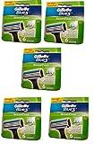 Gillette Blue 3 Sense Care Rasierklingen für sensible Haut, 30 Stück