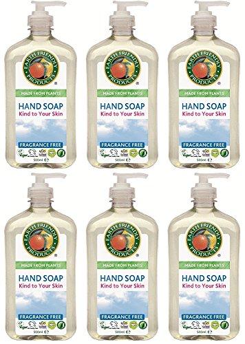 hand-soap-fragrance-free-500ml-bulk-pack-x-6-super-savings-by-earth-friendly