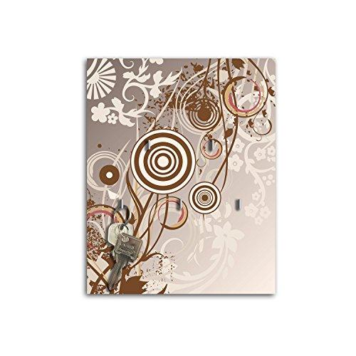 Plaque à clés avec crochets Design MONIKA Board Clé sb142