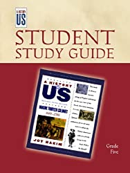 Making Thirteen Colonies: Elementary Grades Student Study Guide, A History of US: Student Study Guide pairs with A History of US: Book Two by Joy Hakim (2010-08-23)