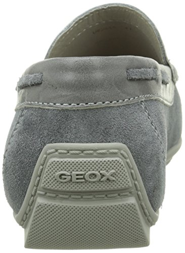 Geox U Monet A, Mocassins Homme Gris (C9002)