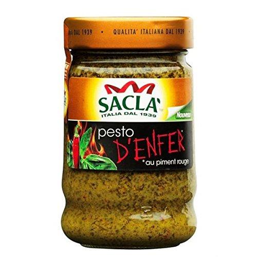 Sauce pesto d'enfer 190g - ( Prix Unitaire ) - Envoi Rapide Et Soignée