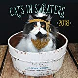 Cats in Sweaters Mini 2018: 16 Month Calendar Includes September 2017 Through December 2018 (Calendars 2018)