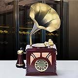 PENG Europäische antike Handy-Display antikes Mobilheim Luxus Luxus Festnetz