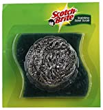 #6: Scotch Brite Stainless Steel Scrub and Scrub Pad - 7.5cm x 7.5cm 1pc Pack