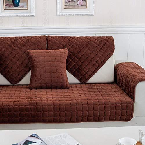 YLCJ 1 Stück Sofabezug geeignet für DREI Sitze mit Diva Peninsulanein L-förmiges Sofa Weiche Anti-Rutsch-Beschichtung -
