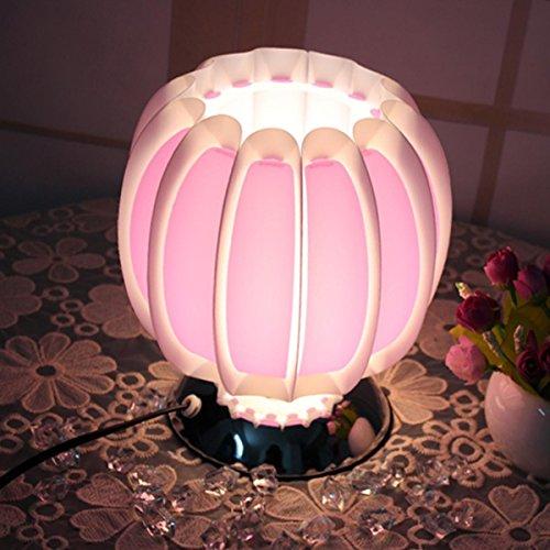 Moderne einfache Schreibtischlampe Warm und romantische Nachttischlampe Einstellbare leichte Kürbislampe für Schlafzimmer