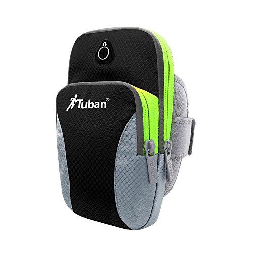 Multifunzione Portable Universal Sports Fascia da Braccio Custodia con 2