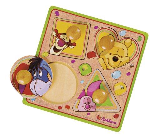 Imagen principal de Eichhorn 100003383 Winnie the Pooh - Tabla troquelada en madera (Simba Dickie)