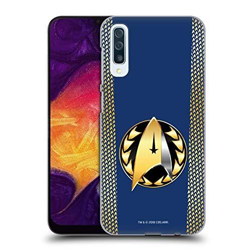 Head Case Designs Offizielle Star Trek Discovery Admiral-Ausweis Uniformen Harte Rueckseiten Huelle kompatibel mit Samsung Galaxy A50 (2019) (Star Trek 2019 Uniform)