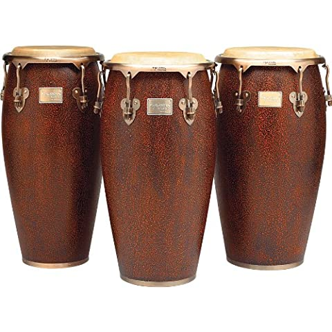 Tycoon Percussion MTCA-110AC/S 11 inch Master Antique Series Quinto Conga with Wooden Sound Plate