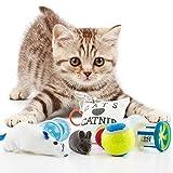 Katzenspielzeug 8er Set Interaktives Spielzeug für Katzen