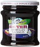 Beyer Myrtilles Sauvages les Fruits au Sirop 110 g - Lot de 3